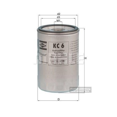 Kraftstoff - Wechselfilter
