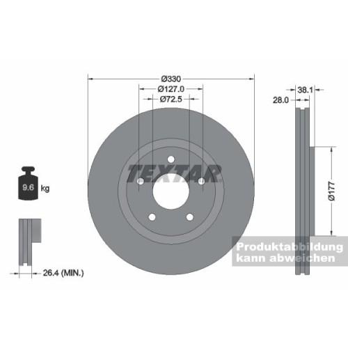 PKW Bremsscheibe