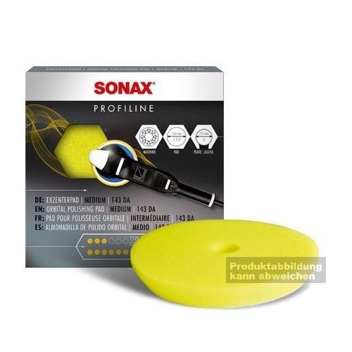 SONAX PolierSchwamm gelb/schwa